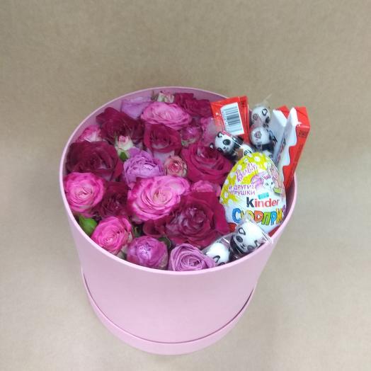 Розочки со сладостями