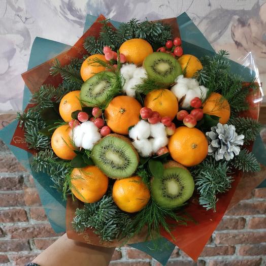 Фруктовый букет 1: букеты цветов на заказ Flowwow