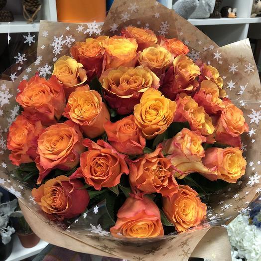 Оранж: букеты цветов на заказ Flowwow