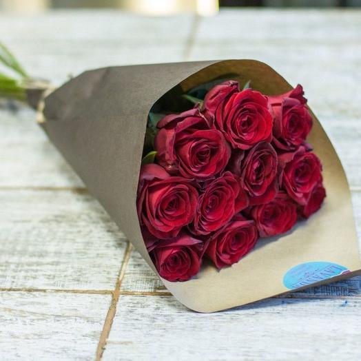 """Букет из 11 роз """"Романс"""""""