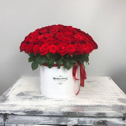 101 rose in a box