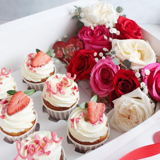 День всех влюблённых: букеты цветов на заказ Flowwow