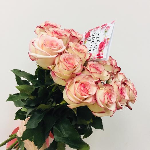 15  нежных роз