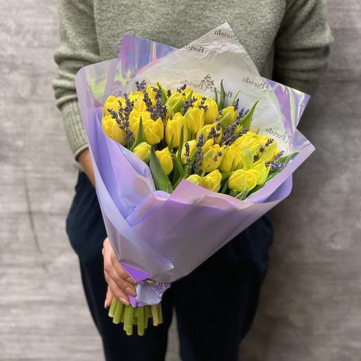 Букет «Яркое мгновение»: букеты цветов на заказ Flowwow