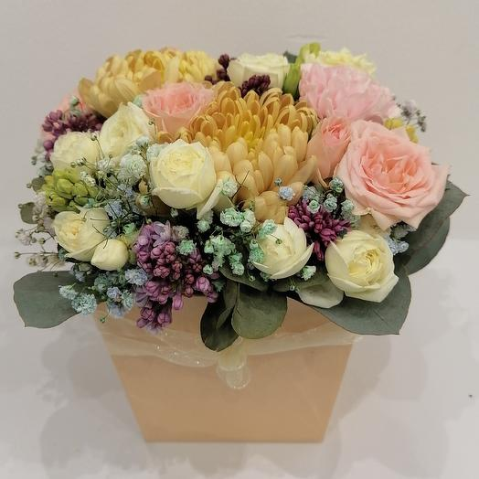 "Композиция ""весенний микс"": букеты цветов на заказ Flowwow"
