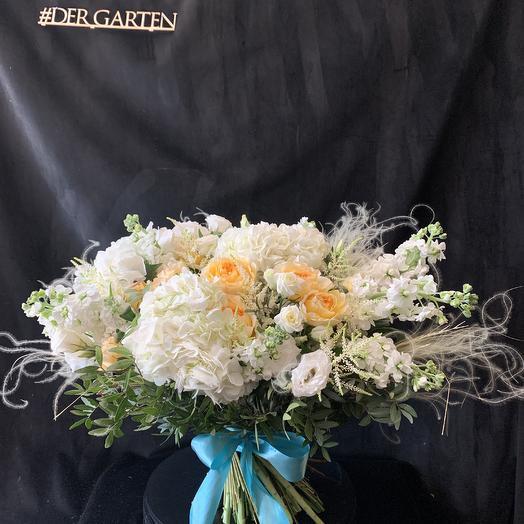 Букет 5 объемный: букеты цветов на заказ Flowwow
