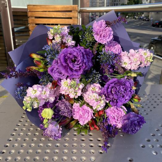 Фиолетовый десерт: букеты цветов на заказ Flowwow