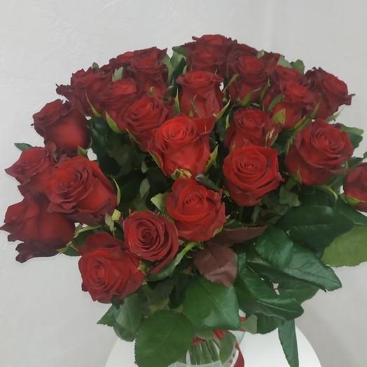 25 Шикарных красных роз