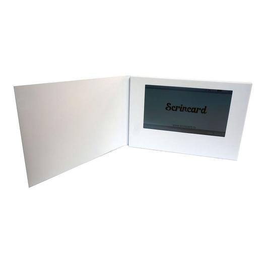 Видеооткрытка Scrincard 7 дюймов touch screen
