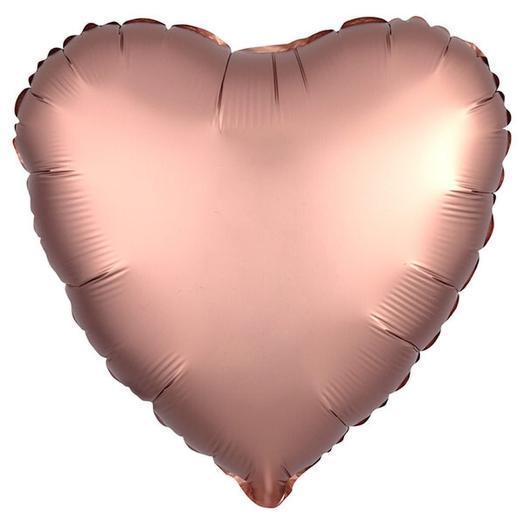 Шар сердце «Медь»