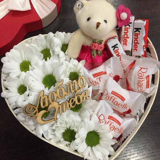 Цветы в коробке 064467