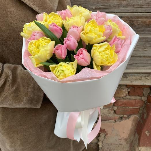 21 пионовидный тюльпан