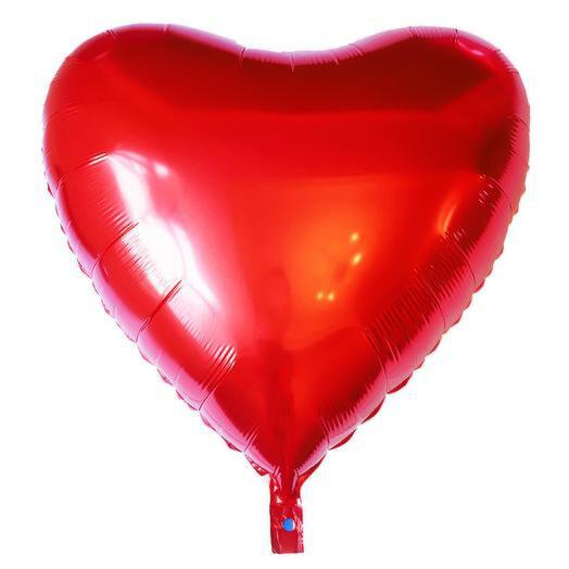Шар Сердце (фольга, гелий)