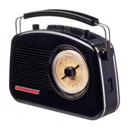 "Ретро-радиоприемник ""Budapest black"""