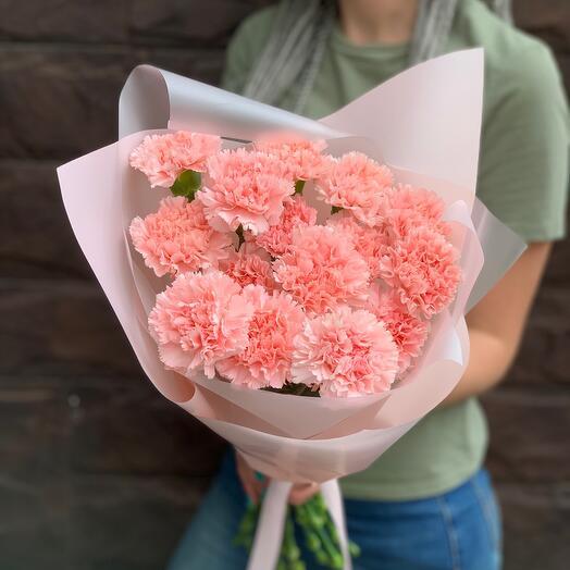 Розовые гвоздики