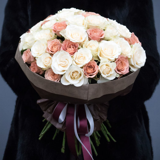 Утренний капучино: букеты цветов на заказ Flowwow
