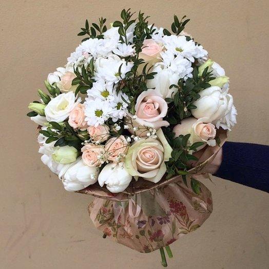 Вся моя нежность: букеты цветов на заказ Flowwow