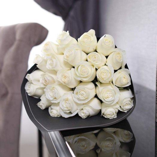 Букет из 25 роз Proud: букеты цветов на заказ Flowwow