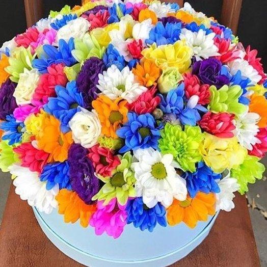 Коробочка Радуга: букеты цветов на заказ Flowwow