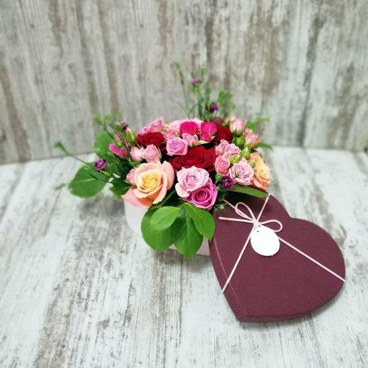 Сердце ангела: букеты цветов на заказ Flowwow