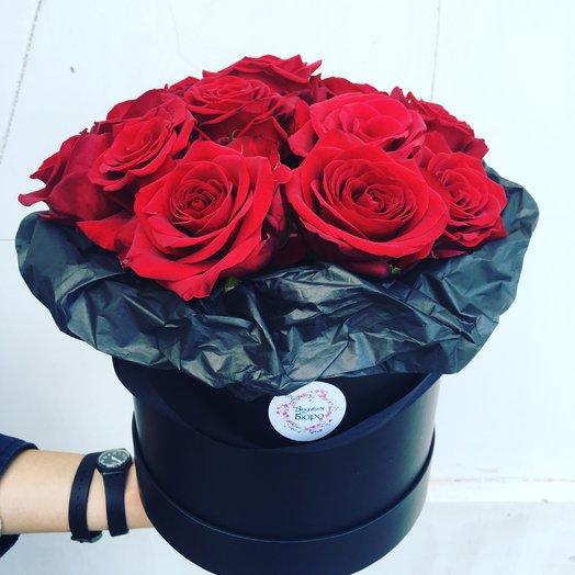 13 роз в коробке: букеты цветов на заказ Flowwow