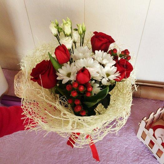 Клюква в сахаре: букеты цветов на заказ Flowwow