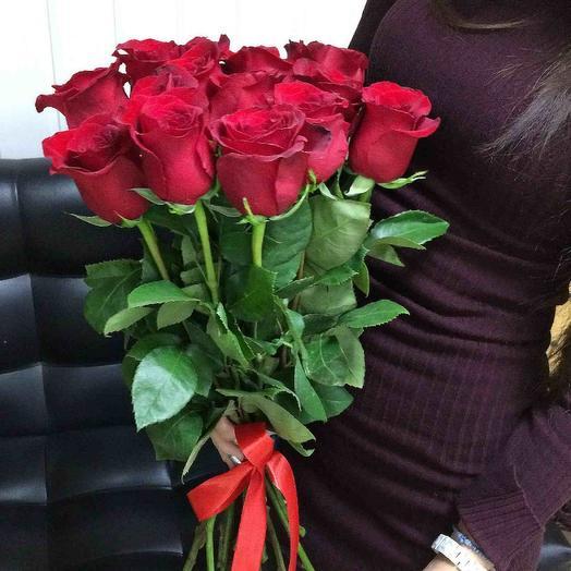 Букет с 15 роз: букеты цветов на заказ Flowwow