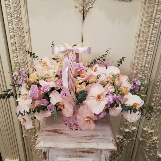 Персиковый рассвет: букеты цветов на заказ Flowwow