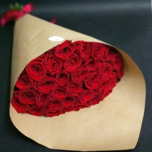 """""""Красный 1"""": букеты цветов на заказ Flowwow"""
