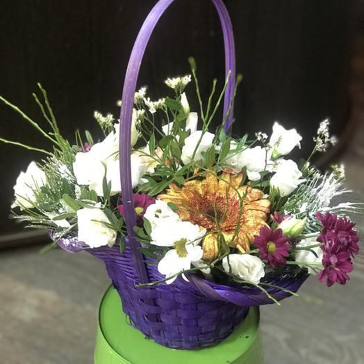 Корзина 23: букеты цветов на заказ Flowwow