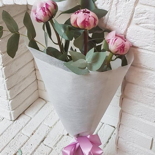 Помпончики: букеты цветов на заказ Flowwow