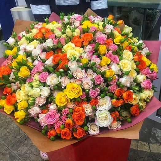 """Букет-гигант """"Самой лучшей"""": букеты цветов на заказ Flowwow"""