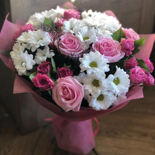 """Букет цветов для мамы """"Нежный шелест"""""""