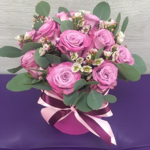 Меритим в коробке: букеты цветов на заказ Flowwow