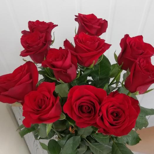 11 red rose