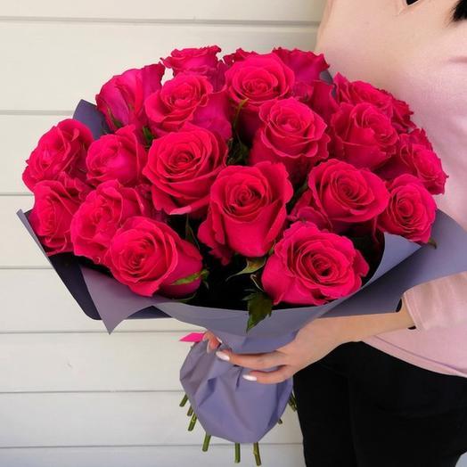 """Букет """"Красный каприз"""": букеты цветов на заказ Flowwow"""