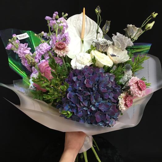 «Индиго»: букеты цветов на заказ Flowwow