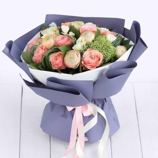 """Красивый букет цветов """"восторг раннего утра"""""""