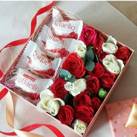 Сюрприз )): букеты цветов на заказ Flowwow