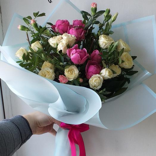 Мисс Розалия: букеты цветов на заказ Flowwow