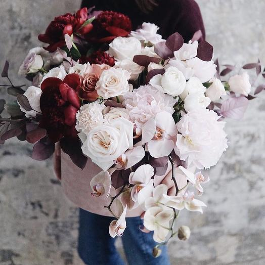 """Коробка с цветами """"Затерянный мир"""""""