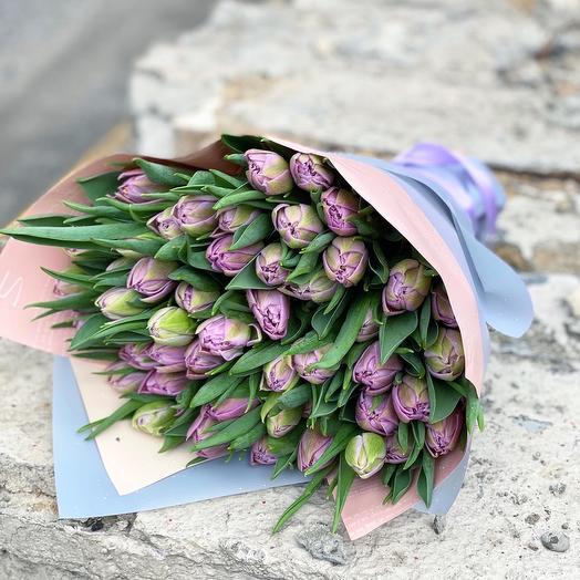 Пионовидные сиреневые тюльпаны 💜💜💜