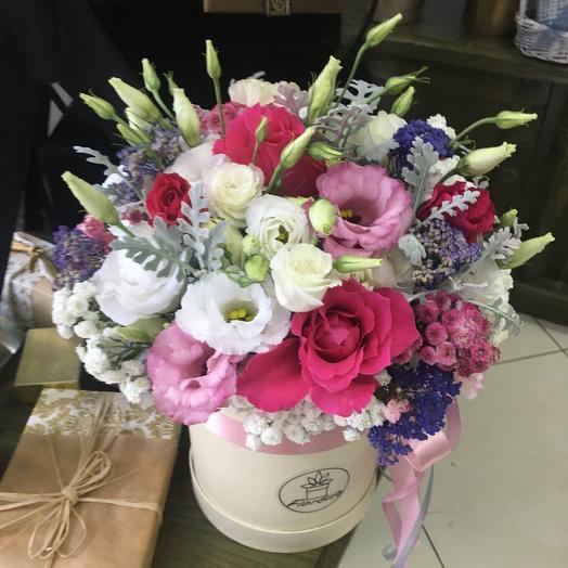 Коробка с смешанными цветами