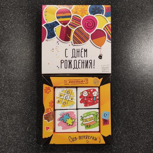 """Бельгийский шоколад """" с днём рождения """""""