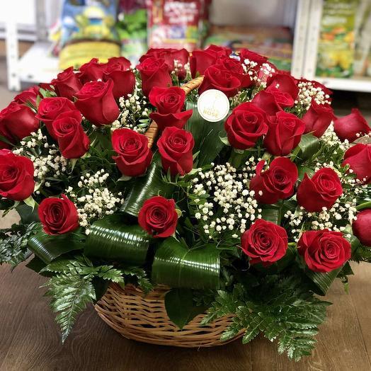 Кошик 51 троянда