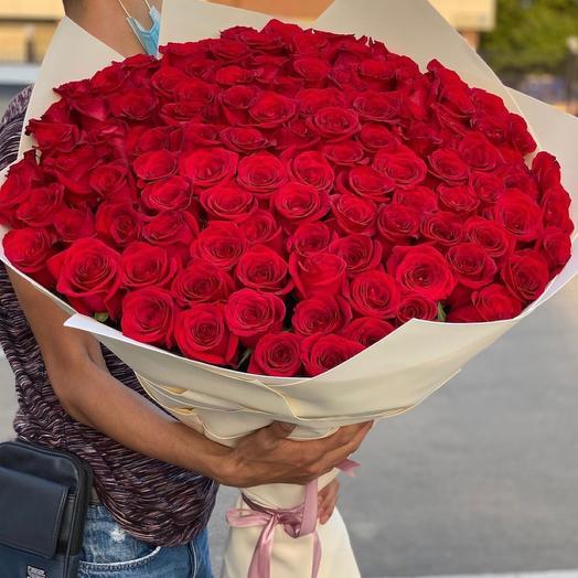101  Роза Эквадорская