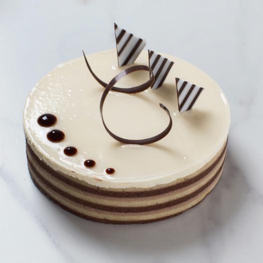 Мини-торт «Три шоколада»