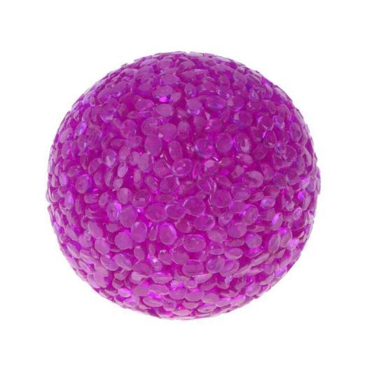"""Triol игрушка для кошек """"Мяч зернистый"""", фиолетовый,  d41мм"""