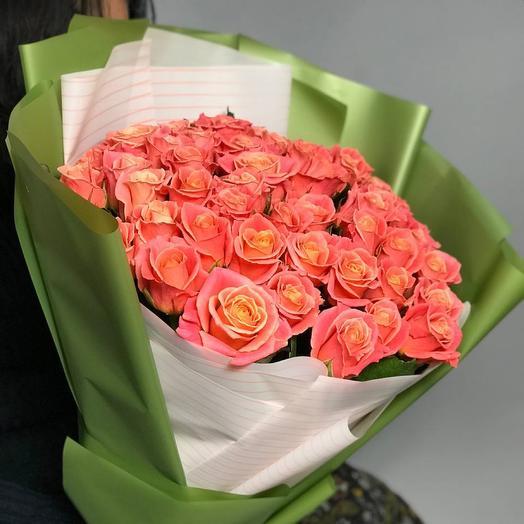 Букет роз Мисс Пигги