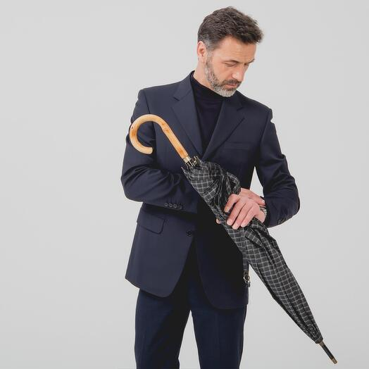 Мужской зонт - трость 23242